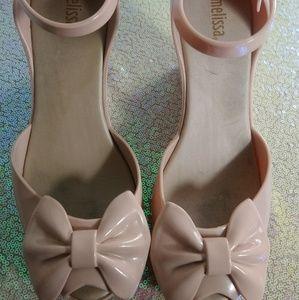 Melissa sandals nude 8